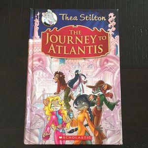 Thea Stilton The journey to Atlantis book